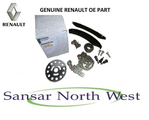For VAUXHALL - RENAULT -  NISSAN Genuine Timing Chain Kit  M9R ENGINE - 2.0 DCI